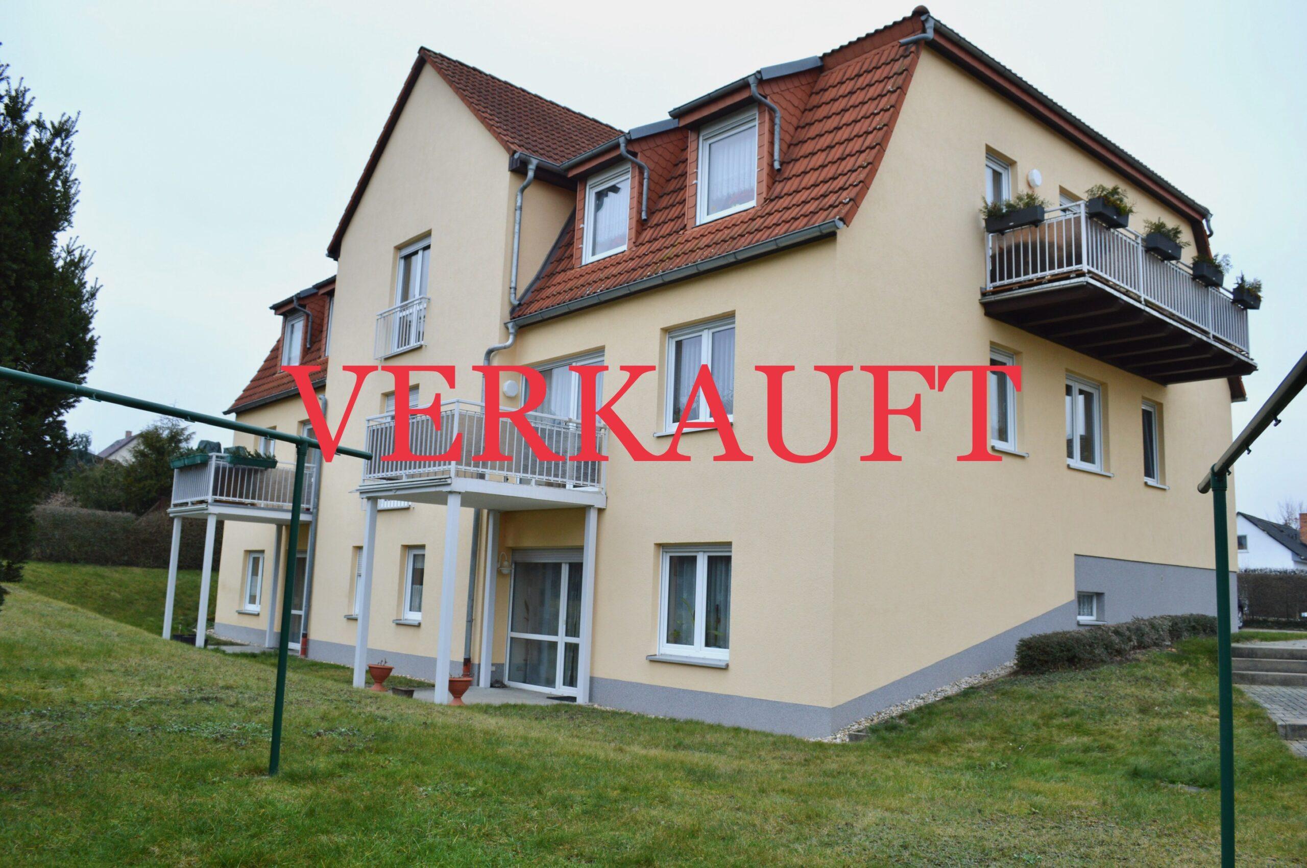 Moderne 1-Zimmer Wohnung in Bad Köstritz!